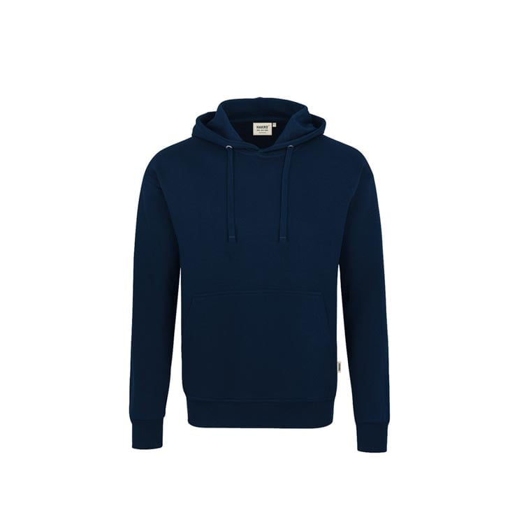 Bluzy - Bluza Premium z kapturem 601 - Hakro 601 - Ink Blue - RAVEN - koszulki reklamowe z nadrukiem, odzież reklamowa i gastronomiczna