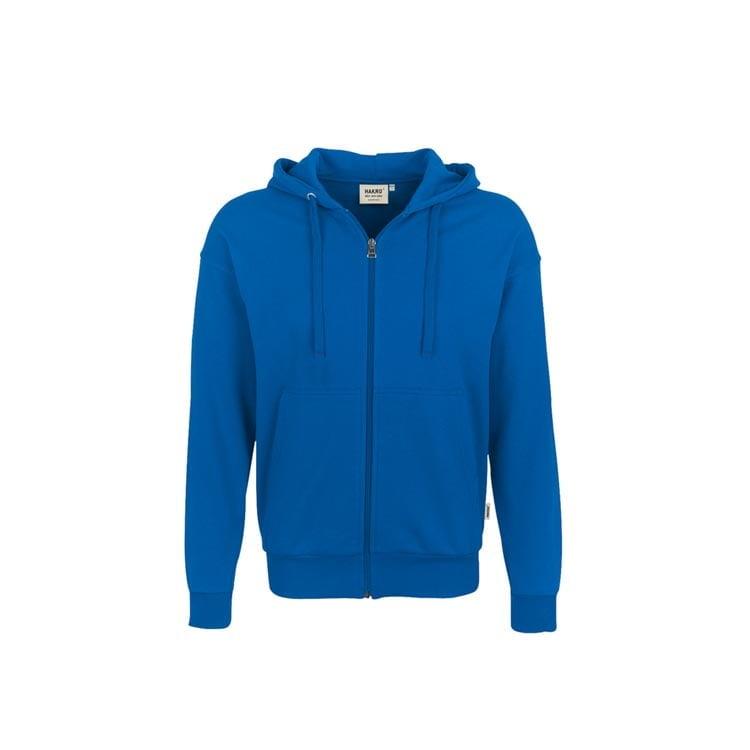 Bluzy - Bluza Premium rozpinana z kapturem 605 - Hakro 605 - Royal Blue - RAVEN - koszulki reklamowe z nadrukiem, odzież reklamowa i gastronomiczna