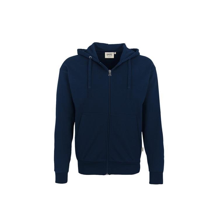 Bluzy - Bluza Premium rozpinana z kapturem 605 - Hakro 605 - Ink Blue - RAVEN - koszulki reklamowe z nadrukiem, odzież reklamowa i gastronomiczna