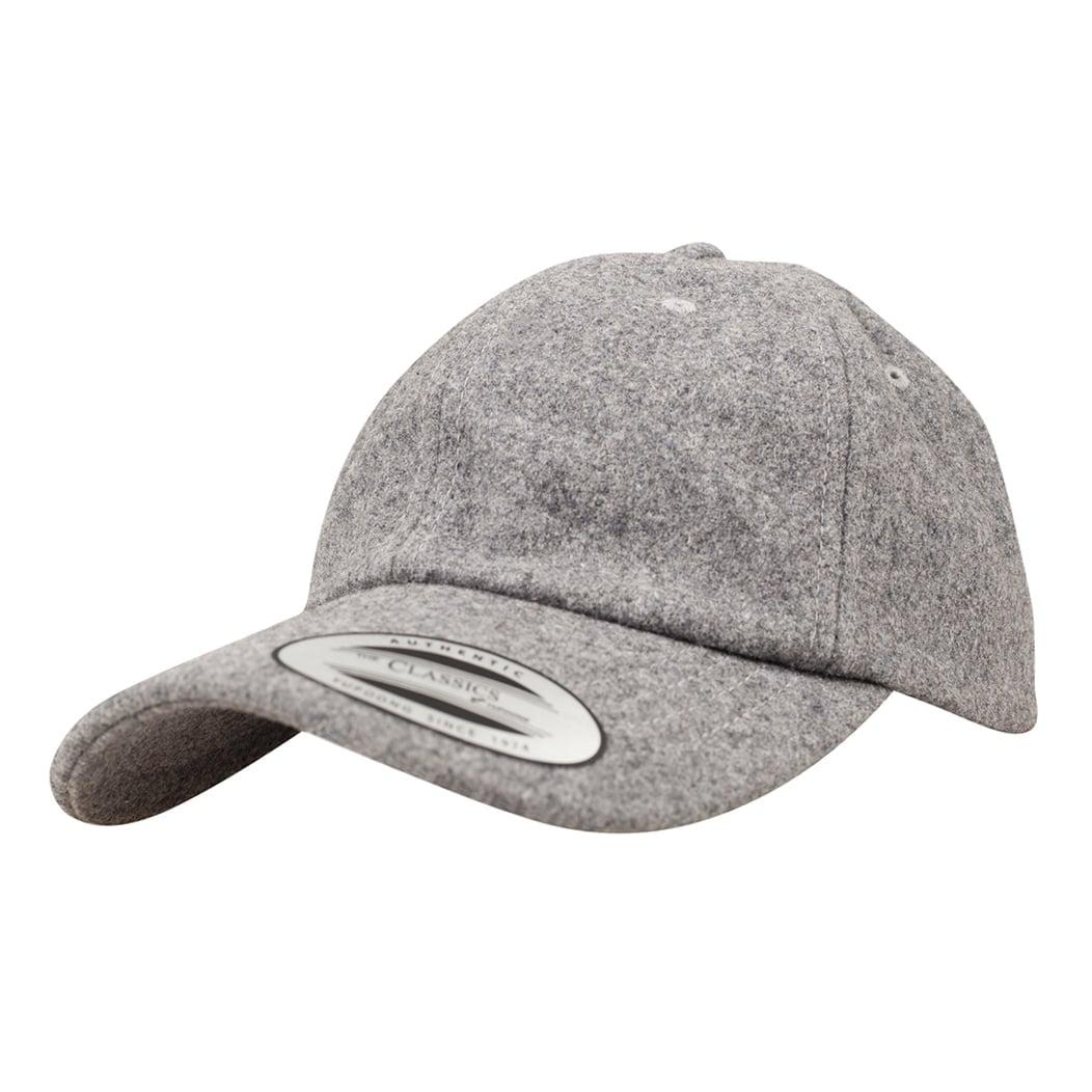 Niskoprofilowa czapka wełniana typu Dad Hat