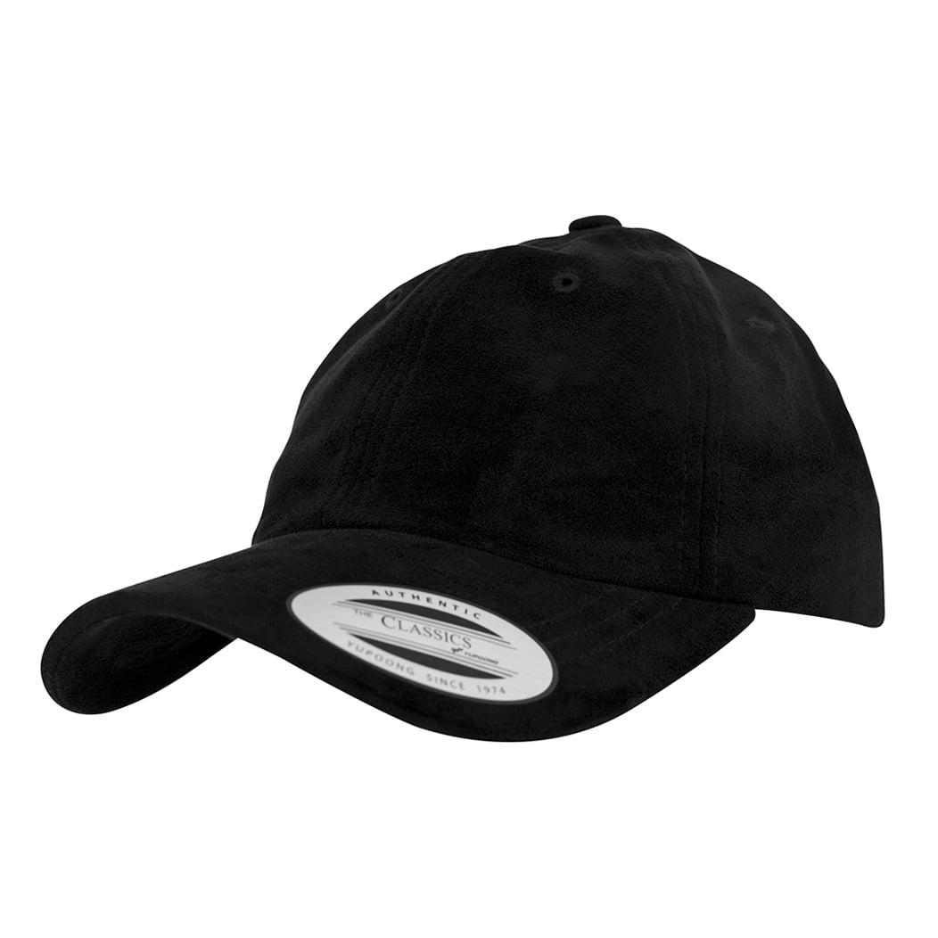 Niskoprofilowa czapka Dad hat z efektem weluru