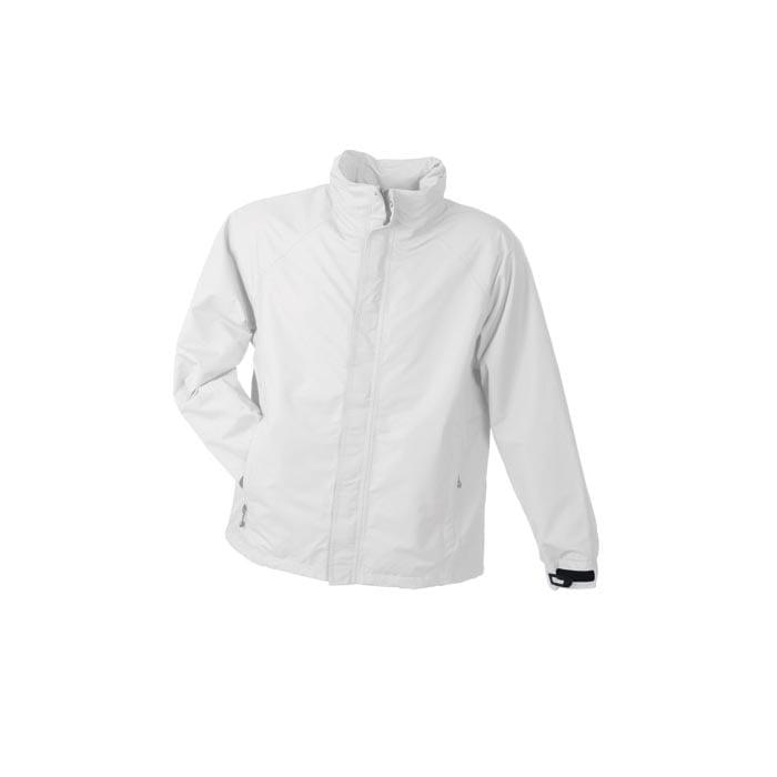 Kurtki - Men´s Outer Jacket - JN 1010 - White - RAVEN - koszulki reklamowe z nadrukiem, odzież reklamowa i gastronomiczna