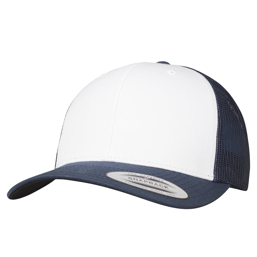 Czapka Retro Trucker Colored Front