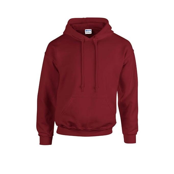 Bluzy - Bluza z kapturem Heavy Blend™ - Gildan 18500 - Garnet - RAVEN - koszulki reklamowe z nadrukiem, odzież reklamowa i gastronomiczna