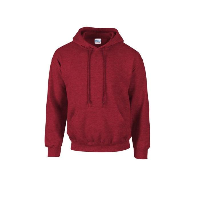 Bluzy - Bluza z kapturem Heavy Blend™ - Gildan 18500 - Antique Cherry Red (Heather) - RAVEN - koszulki reklamowe z nadrukiem, odzież reklamowa i gastronomiczna