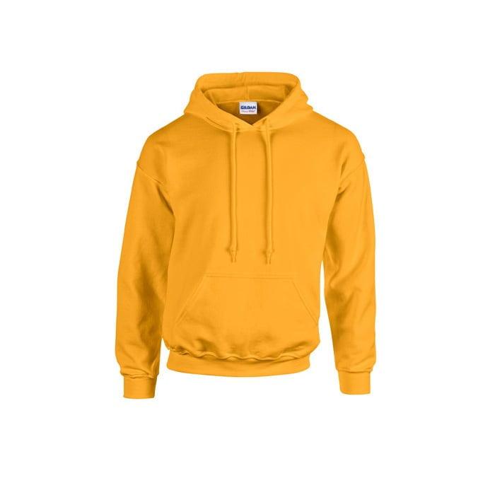 Bluzy - Bluza z kapturem Heavy Blend™ - Gildan 18500 - Gold - RAVEN - koszulki reklamowe z nadrukiem, odzież reklamowa i gastronomiczna
