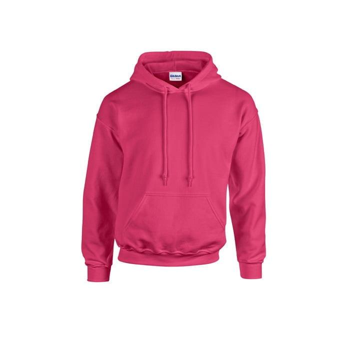 Bluzy - Bluza z kapturem Heavy Blend™ - Gildan 18500 - Heliconia - RAVEN - koszulki reklamowe z nadrukiem, odzież reklamowa i gastronomiczna