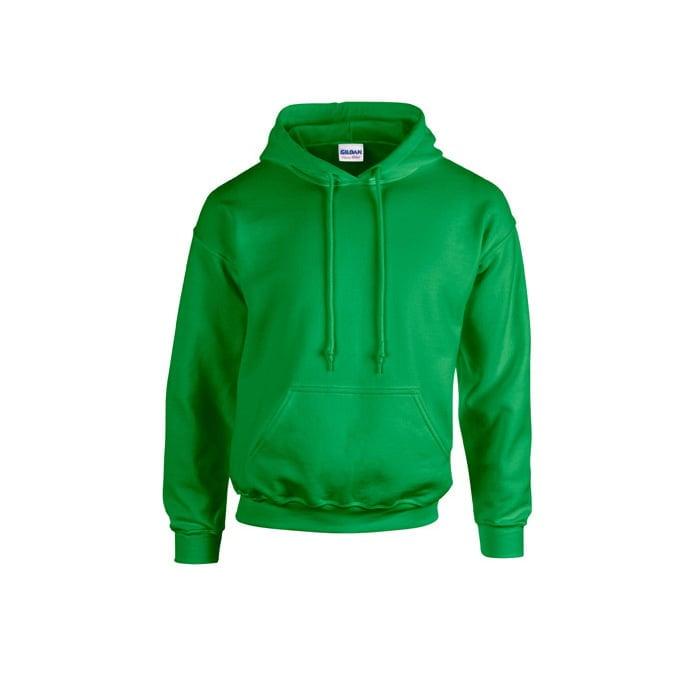 Bluzy - Bluza z kapturem Heavy Blend™ - Gildan 18500 - Irish Green - RAVEN - koszulki reklamowe z nadrukiem, odzież reklamowa i gastronomiczna
