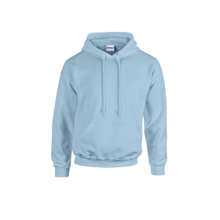 Bluzy - Bluza z kapturem Heavy Blend™ - Gildan 18500 - Light Blue - RAVEN - koszulki reklamowe z nadrukiem, odzież reklamowa i gastronomiczna
