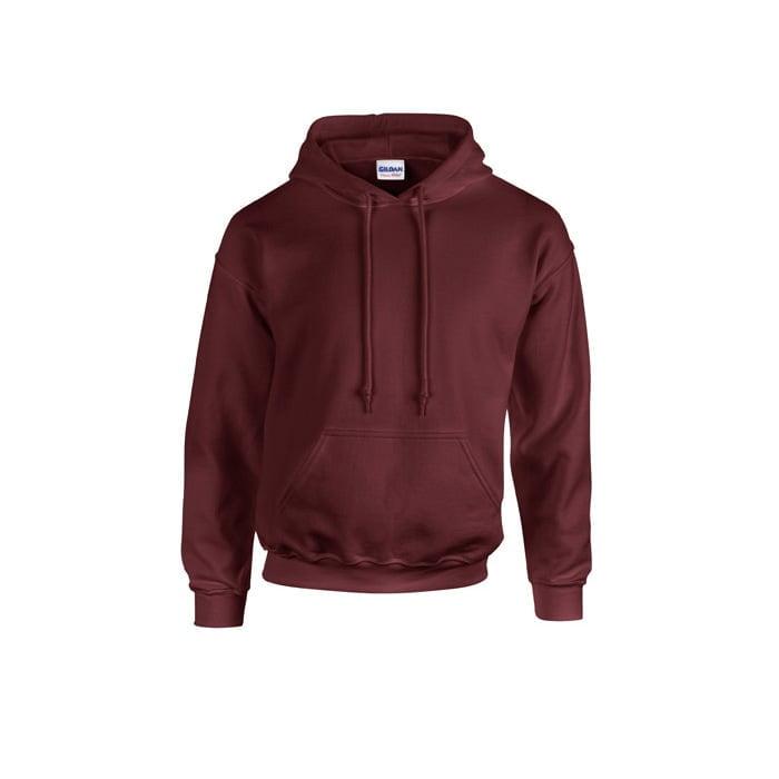Bluzy - Bluza z kapturem Heavy Blend™ - Gildan 18500 - Maroon - RAVEN - koszulki reklamowe z nadrukiem, odzież reklamowa i gastronomiczna