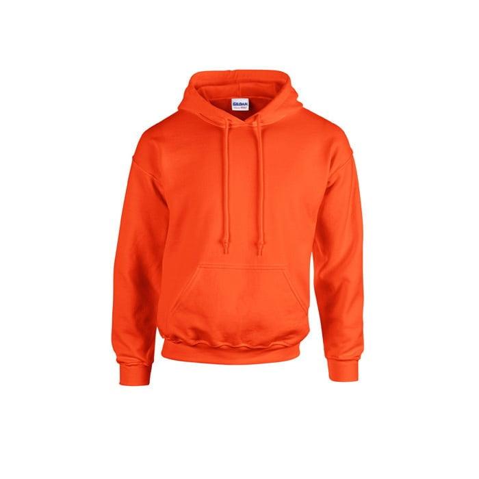 Bluzy - Bluza z kapturem Heavy Blend™ - Gildan 18500 - Orange - RAVEN - koszulki reklamowe z nadrukiem, odzież reklamowa i gastronomiczna