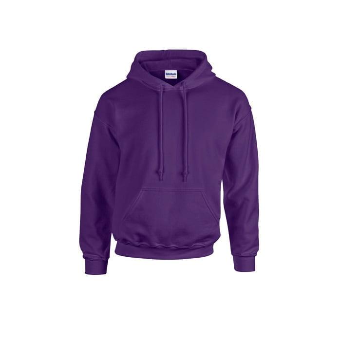 Bluzy - Bluza z kapturem Heavy Blend™ - Gildan 18500 - Purple - RAVEN - koszulki reklamowe z nadrukiem, odzież reklamowa i gastronomiczna
