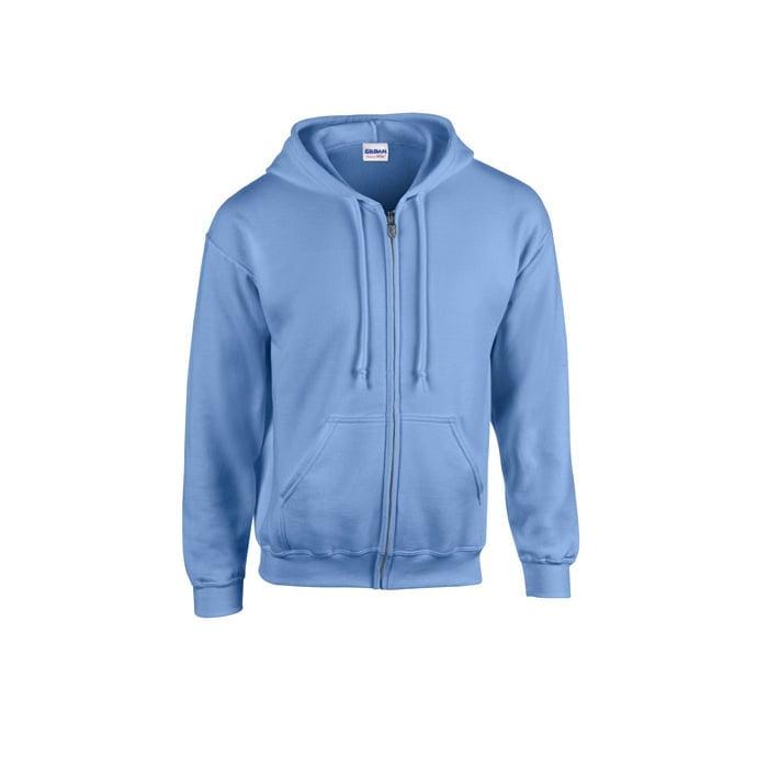 Bluzy - Bluza z pełnym zamkiem Heavy Blend™ - Gildan 18600 - Carolina Blue - RAVEN - koszulki reklamowe z nadrukiem, odzież reklamowa i gastronomiczna