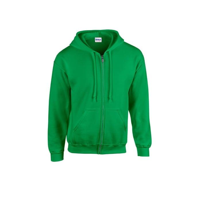 Bluzy - Bluza z pełnym zamkiem Heavy Blend™ - Gildan 18600 - Irish Green - RAVEN - koszulki reklamowe z nadrukiem, odzież reklamowa i gastronomiczna