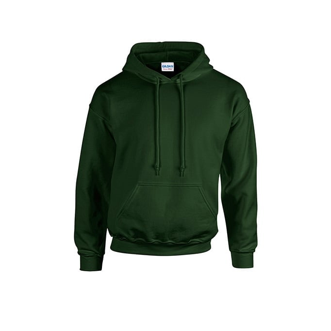 Bluzy - Bluza z kapturem Heavy Blend™ - Gildan 18500 - Forest Green - RAVEN - koszulki reklamowe z nadrukiem, odzież reklamowa i gastronomiczna