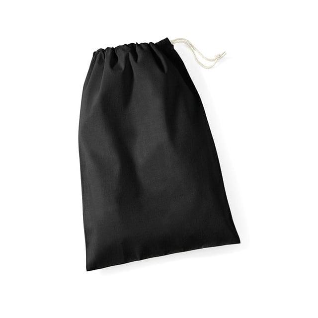 Torby i plecaki - Worek bawełniany Stuff - W115 - Black - RAVEN - koszulki reklamowe z nadrukiem, odzież reklamowa i gastronomiczna