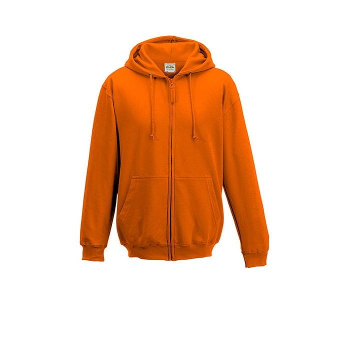 Bluzy - Bluza z kapturem Zoodie - Just Hoods JH050 - Orange Crush - RAVEN - koszulki reklamowe z nadrukiem, odzież reklamowa i gastronomiczna