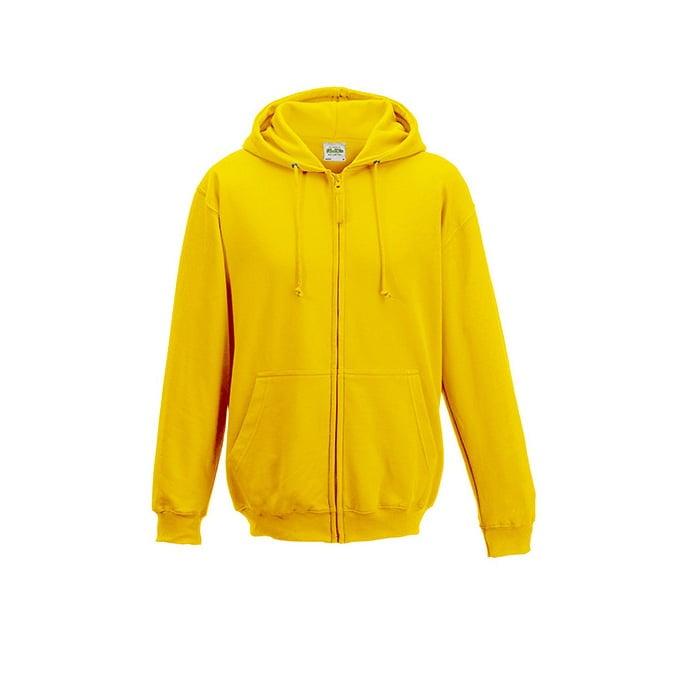 Bluzy - Bluza z kapturem Zoodie - Just Hoods JH050 - Sun Yellow - RAVEN - koszulki reklamowe z nadrukiem, odzież reklamowa i gastronomiczna