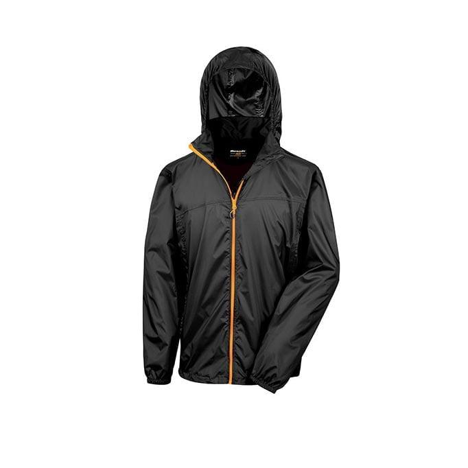 Kurtki - Urban HDi Quest Lightweight Stowable Jacket - R189X - Black - RAVEN - koszulki reklamowe z nadrukiem, odzież reklamowa i gastronomiczna