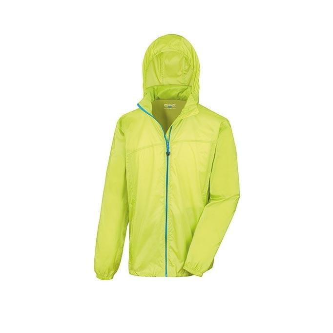 Kurtki - Urban HDi Quest Lightweight Stowable Jacket - R189X - Lime - RAVEN - koszulki reklamowe z nadrukiem, odzież reklamowa i gastronomiczna