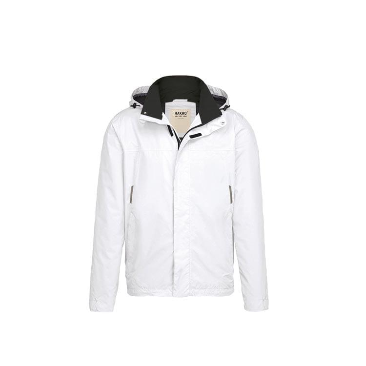 Kurtki - Lekka męska kurtka przeciwdeszczowa Connecticut 862 - Hakro 862 - White - RAVEN - koszulki reklamowe z nadrukiem, odzież reklamowa i gastronomiczna