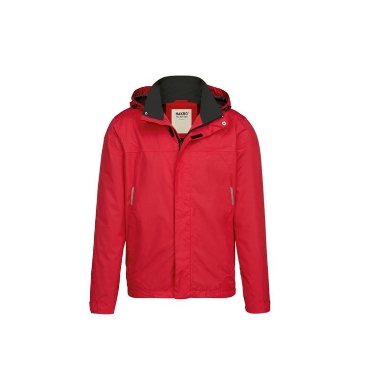 Kurtki - Lekka męska kurtka przeciwdeszczowa Connecticut 862 - Hakro 862 - Red - RAVEN - koszulki reklamowe z nadrukiem, odzież reklamowa i gastronomiczna