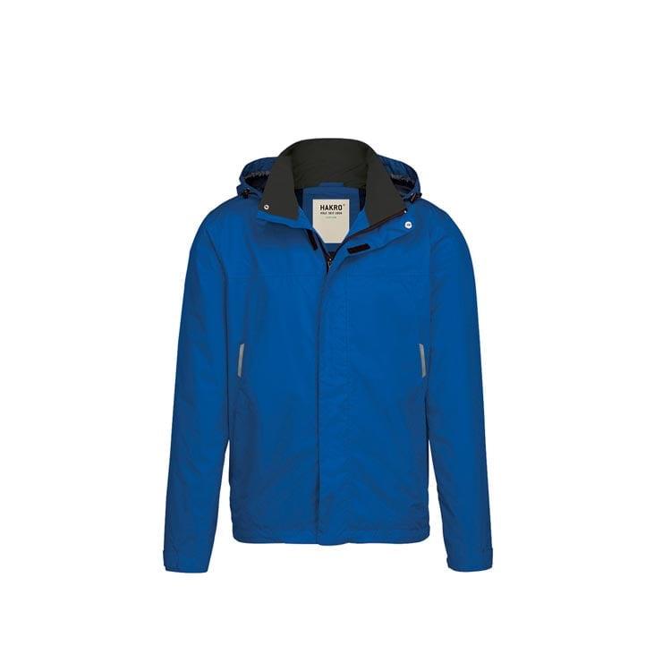 Kurtki - Lekka męska kurtka przeciwdeszczowa Connecticut 862 - Hakro 862 - Royal Blue - RAVEN - koszulki reklamowe z nadrukiem, odzież reklamowa i gastronomiczna