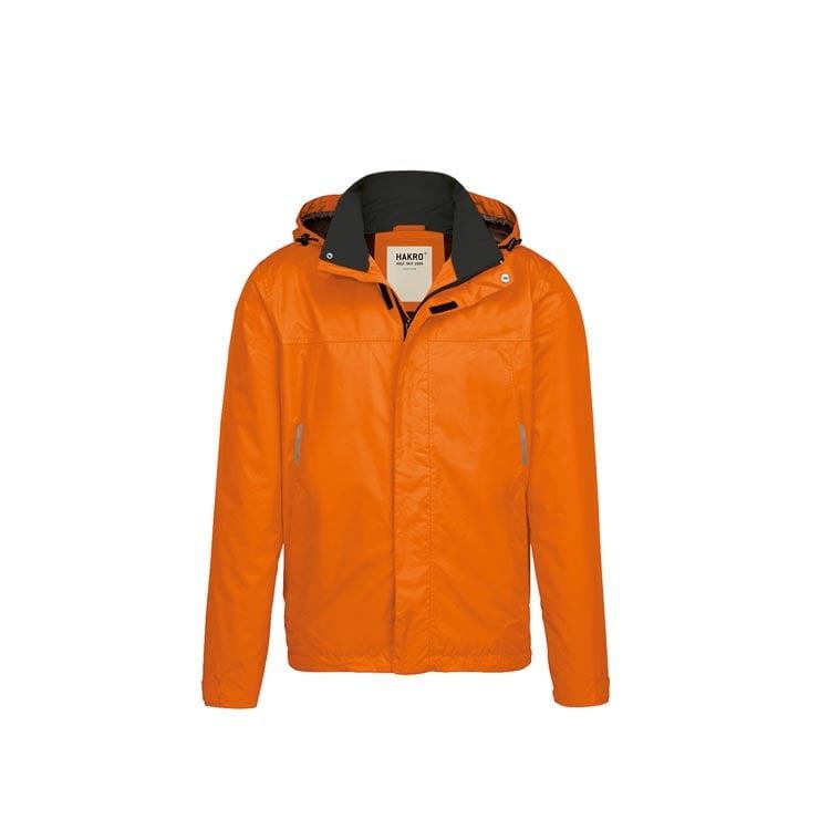 Kurtki - Lekka męska kurtka przeciwdeszczowa Connecticut 862 - Hakro 862 - Orange - RAVEN - koszulki reklamowe z nadrukiem, odzież reklamowa i gastronomiczna