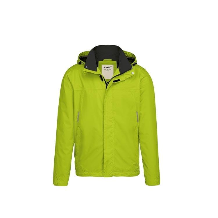 Kurtki - Lekka męska kurtka przeciwdeszczowa Connecticut 862 - Hakro 862 - Kiwi Green - RAVEN - koszulki reklamowe z nadrukiem, odzież reklamowa i gastronomiczna
