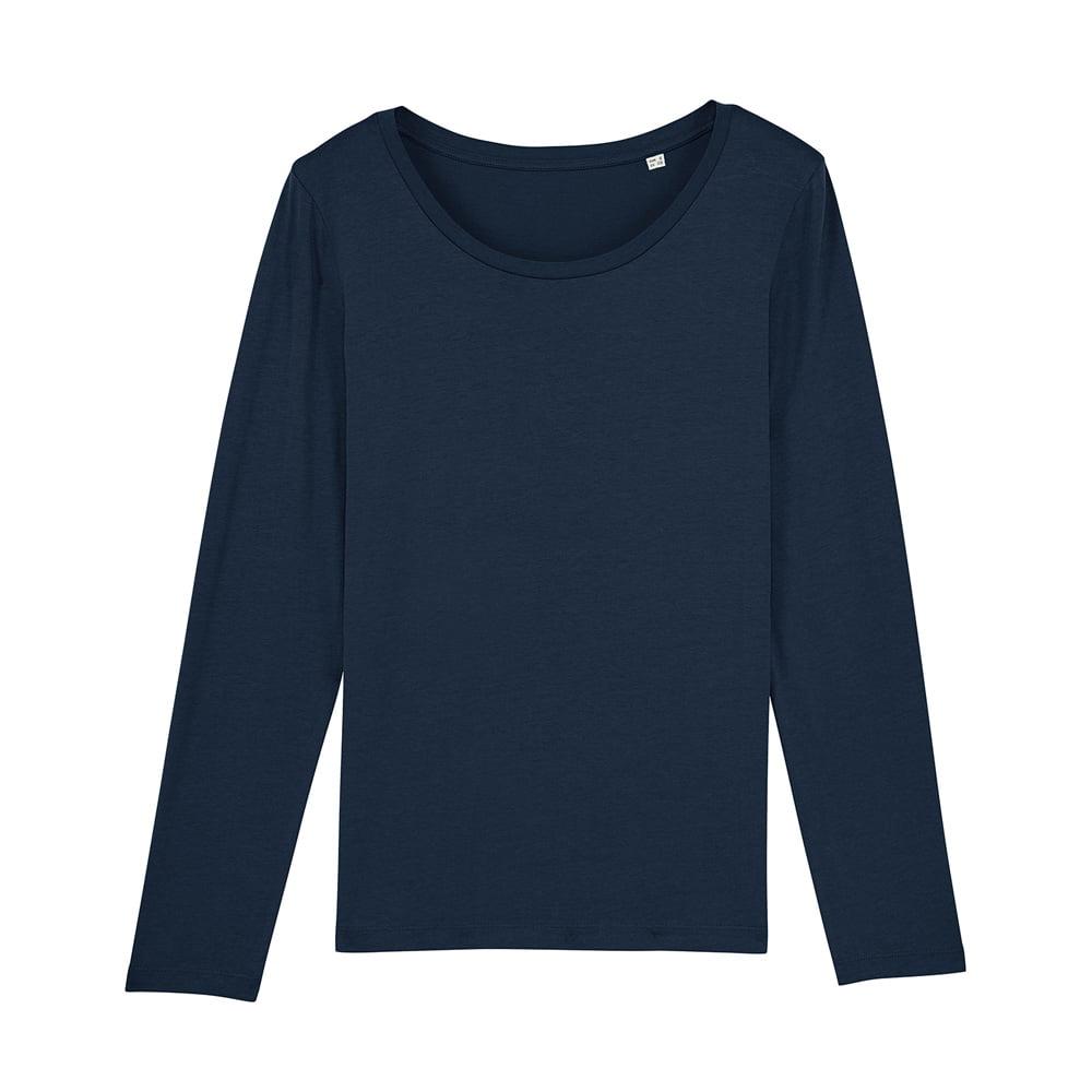Koszulki T-Shirt - Damski T-shirt Stella Singer - STTW021 - French Navy - RAVEN - koszulki reklamowe z nadrukiem, odzież reklamowa i gastronomiczna