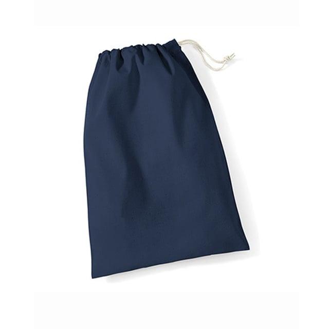 Torby i plecaki - Worek bawełniany Stuff - W115 - Navy - RAVEN - koszulki reklamowe z nadrukiem, odzież reklamowa i gastronomiczna