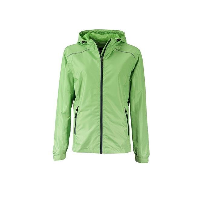 Kurtki - Ladies` Rain Jacket - JN1117 - Spring Green - RAVEN - koszulki reklamowe z nadrukiem, odzież reklamowa i gastronomiczna