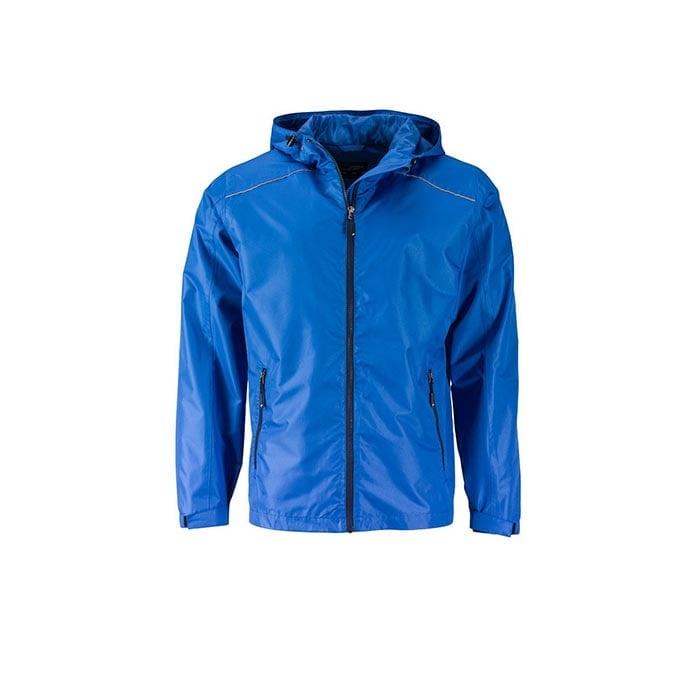 Kurtki - Mens` Rain Jacket -  JN1118 - Royal - RAVEN - koszulki reklamowe z nadrukiem, odzież reklamowa i gastronomiczna