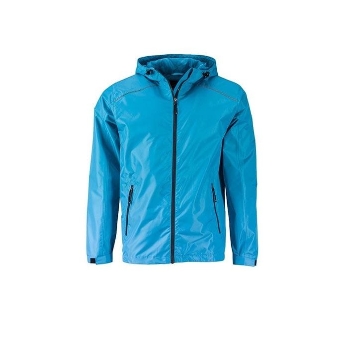 Kurtki - Mens` Rain Jacket -  JN1118 - Turquoise - RAVEN - koszulki reklamowe z nadrukiem, odzież reklamowa i gastronomiczna