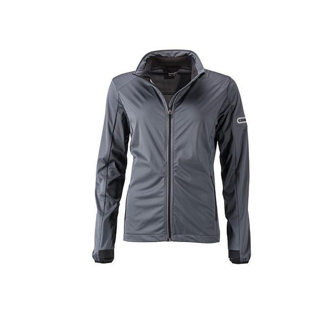 Kurtki - Ladies` Sports Softshell Jacket - JN1125 - Titan - RAVEN - koszulki reklamowe z nadrukiem, odzież reklamowa i gastronomiczna