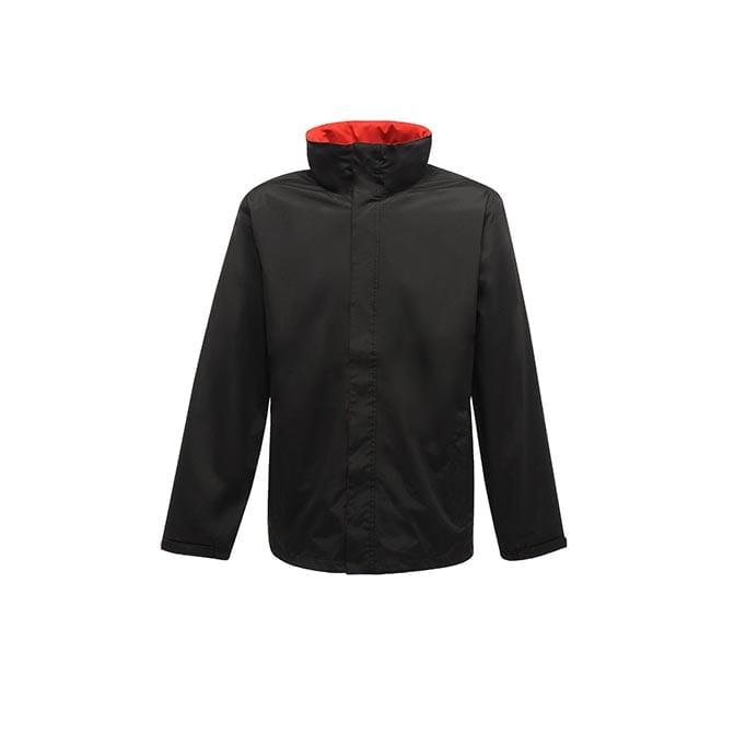 Kurtki - Ardmore Jacket - TRW461 - Black/Classic Red - RAVEN - koszulki reklamowe z nadrukiem, odzież reklamowa i gastronomiczna