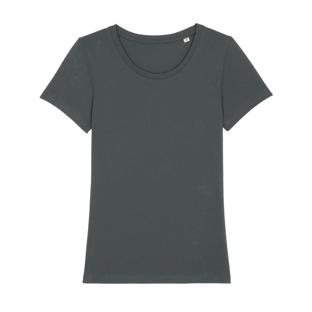 Koszulki T-Shirt - Damski T-shirt Stella Expresser - STTW032 - Anthracite - RAVEN - koszulki reklamowe z nadrukiem, odzież reklamowa i gastronomiczna