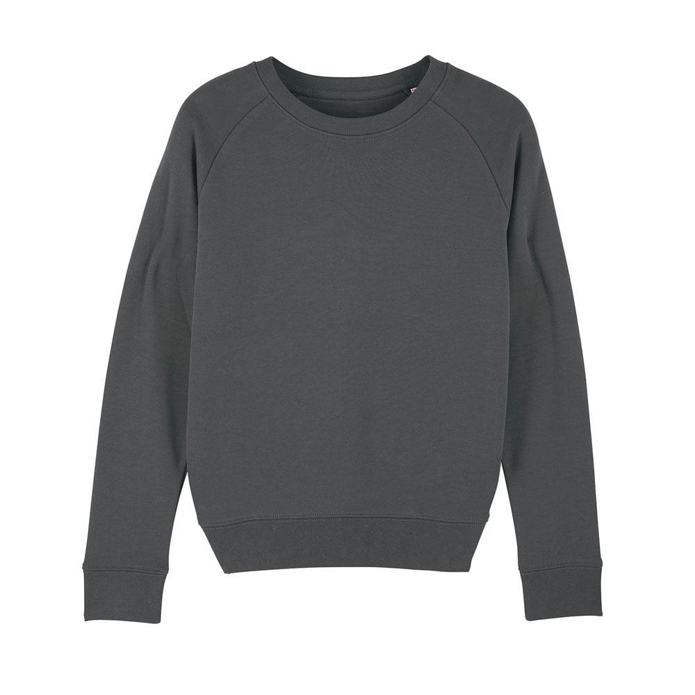 Bluzy - Damska Bluza Stella Tripster - STSW146 - Anthracite - RAVEN - koszulki reklamowe z nadrukiem, odzież reklamowa i gastronomiczna