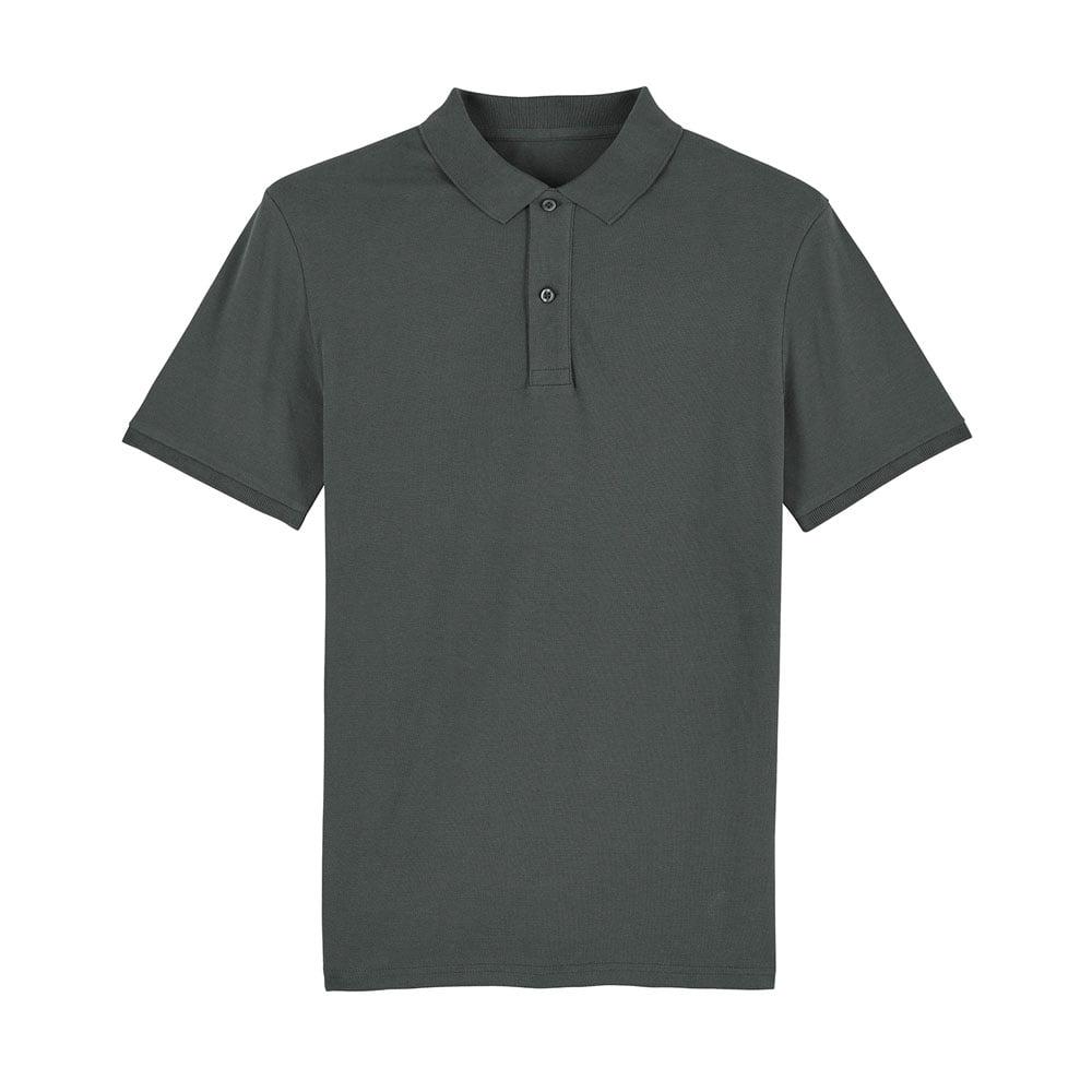 Koszulki Polo - Męska koszulka Polo Stanley Dedicator - STPM563 - Anthracite - RAVEN - koszulki reklamowe z nadrukiem, odzież reklamowa i gastronomiczna