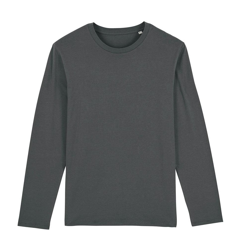 Koszulki T-Shirt - Męski Longsleeve Stanley Shuffler - STTM560 - Anthracite - RAVEN - koszulki reklamowe z nadrukiem, odzież reklamowa i gastronomiczna