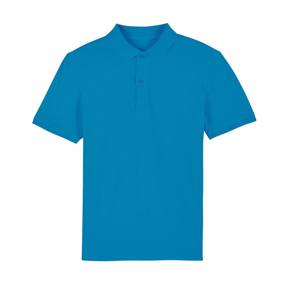 Koszulki Polo - Męska koszulka Polo Stanley Dedicator - STPM563 - Azure - RAVEN - koszulki reklamowe z nadrukiem, odzież reklamowa i gastronomiczna