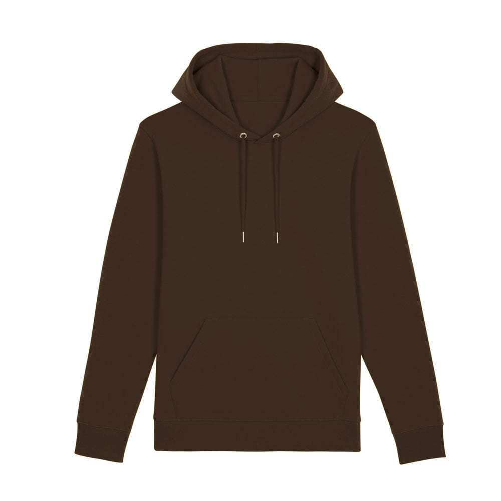 Bluzy - Bluza Unisex z Kapturem Cruiser - STSU822 - Deep chocolate - RAVEN - koszulki reklamowe z nadrukiem, odzież reklamowa i gastronomiczna