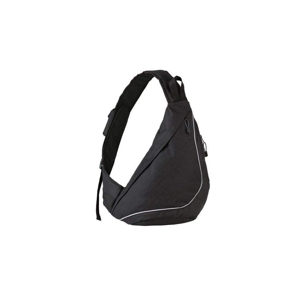 Torby i plecaki - Plecak Slingpack - 1803314 - Black - RAVEN - koszulki reklamowe z nadrukiem, odzież reklamowa i gastronomiczna