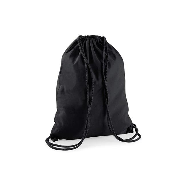 Torby i plecaki - Worek festiwalowy Cotton Gym - W110 - Black/Black - RAVEN - koszulki reklamowe z nadrukiem, odzież reklamowa i gastronomiczna