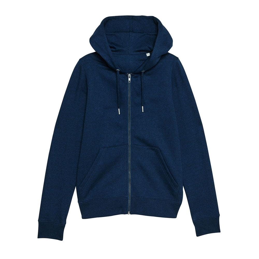 Bluzy - Damska Bluza Stella Editor - STSW149 - Black Heather Blue - RAVEN - koszulki reklamowe z nadrukiem, odzież reklamowa i gastronomiczna