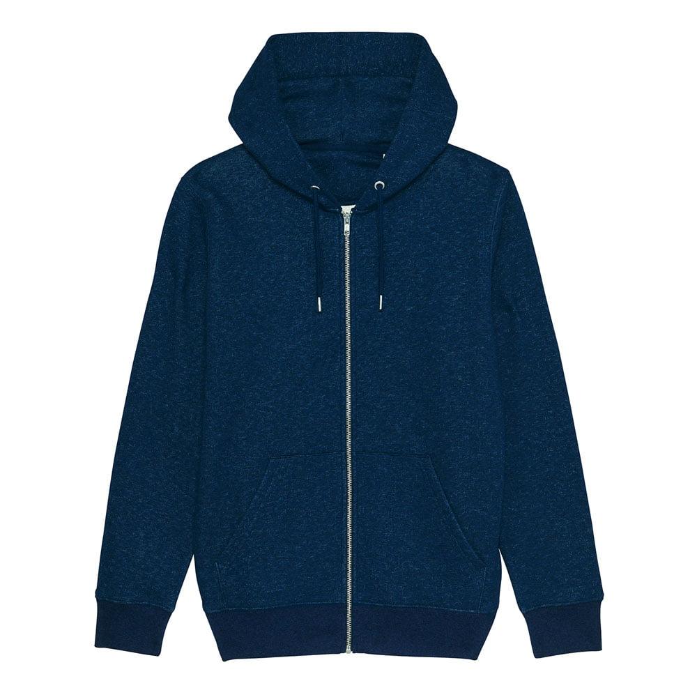 Bluzy - Męska Bluza Stanley Cultivator - STSM566 - Black Heather Blue - RAVEN - koszulki reklamowe z nadrukiem, odzież reklamowa i gastronomiczna