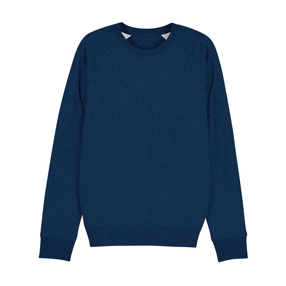 Bluzy - Męska Bluza Stanley Stroller - STSM567 - Black Heather Blue - RAVEN - koszulki reklamowe z nadrukiem, odzież reklamowa i gastronomiczna
