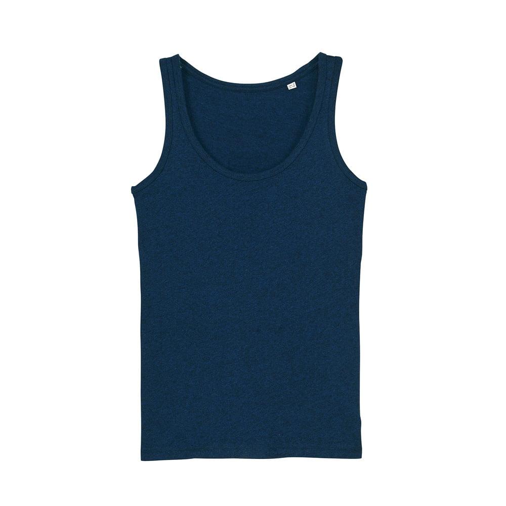 Koszulki T-Shirt - Damski Tank Top Stella Dreamer - STTW013 - Black Heather Blue - RAVEN - koszulki reklamowe z nadrukiem, odzież reklamowa i gastronomiczna