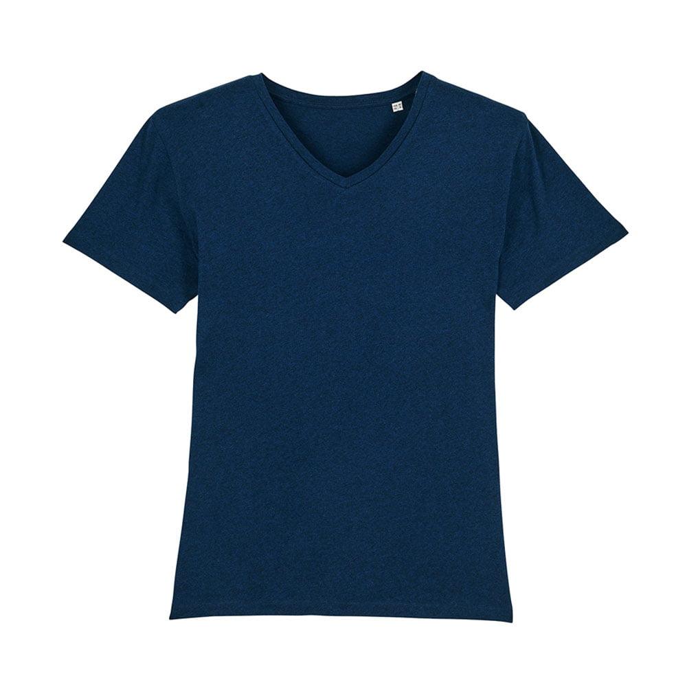 Koszulki T-Shirt - Męski T-shirt Stanley Presenter - STTM562 - Black Heather Blue - RAVEN - koszulki reklamowe z nadrukiem, odzież reklamowa i gastronomiczna