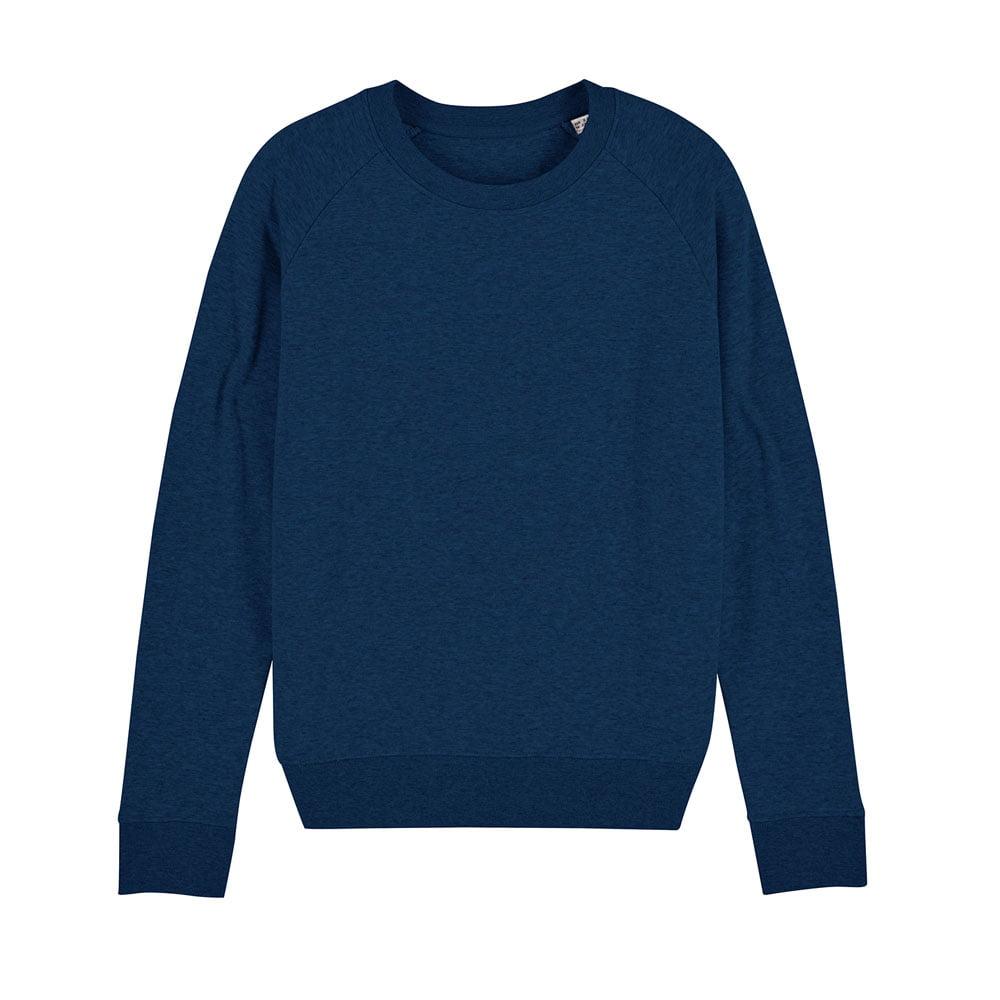 Bluzy - Damska Bluza Stella Tripster - STSW146 - Black Heather Blue - RAVEN - koszulki reklamowe z nadrukiem, odzież reklamowa i gastronomiczna